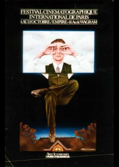 affiche du film FESTIVAL CINEMATOGRAPHIQUE INTERNATIONAL DE PARIS