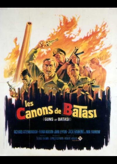 GUNS AT BATASI movie poster