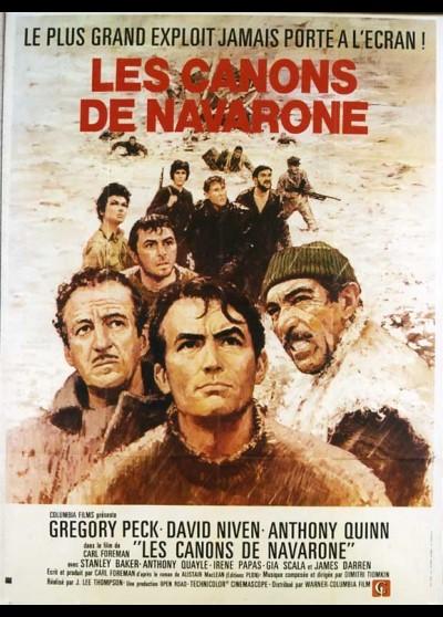 affiche du film CANONS DE NAVARONE (LES)
