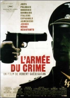 affiche du film ARMEE DU CRIME (L')