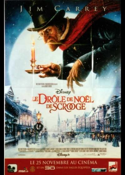 affiche du film DROLE DE NOEL DE SCROOGE (LE)