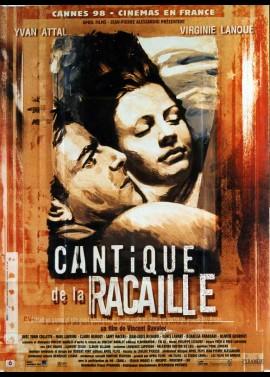 affiche du film CANTIQUE DE LA RACAILLE