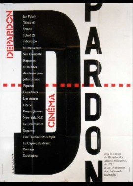affiche du film DEPARDON RETROSPECTIVE