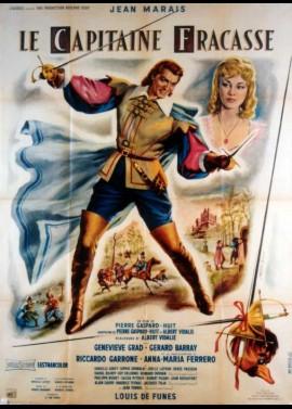 affiche du film CAPITAINE FRACASSE (LE)