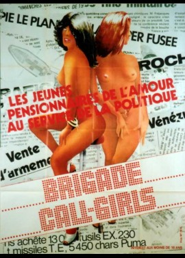 affiche du film BRIGADE CALL GIRLS