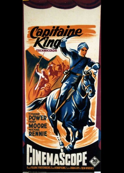 affiche du film CAPITAINE KING