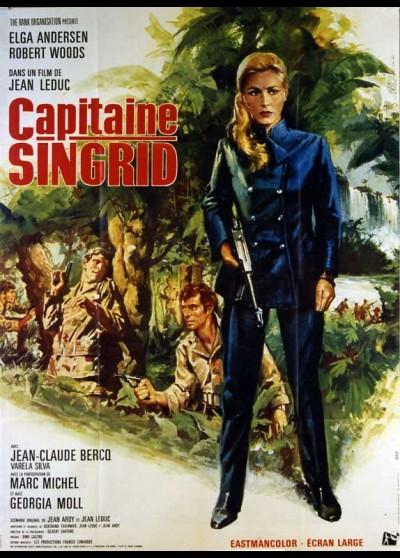 affiche du film CAPITAINE SINGRID