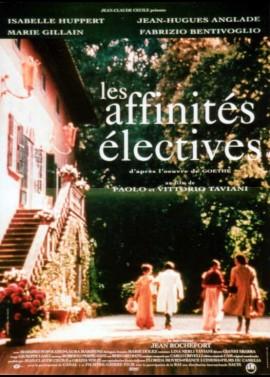 affiche du film AFFINITES ELECTIVES (LES)