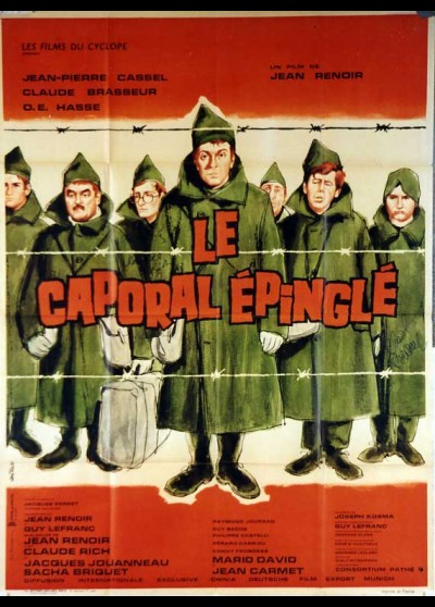 affiche du film CAPORAL EPINGLE (LE)