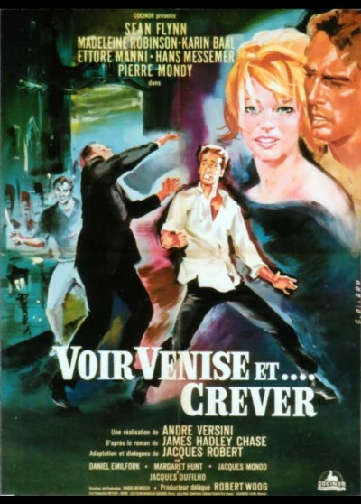 AGENT SPECIAL A VENISE movie poster
