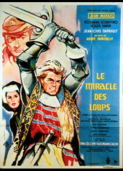 MIRACLE DES LOUPS (LE) movie poster