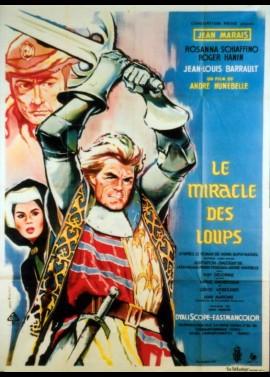 affiche du film MIRACLE DES LOUPS (LE)