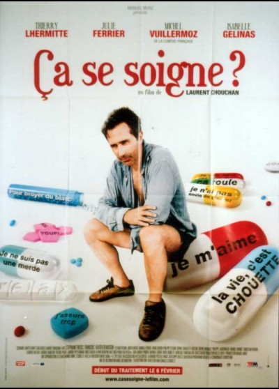affiche du film CA SE SOIGNE