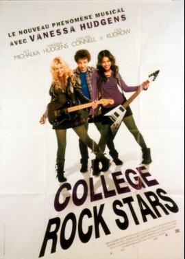 affiche du film COLLEGE ROCK STAR
