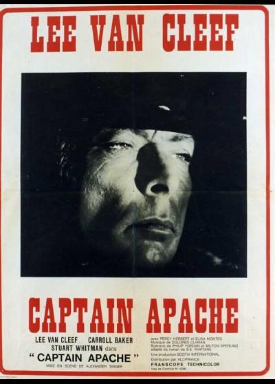 CAPITAN APACHE movie poster