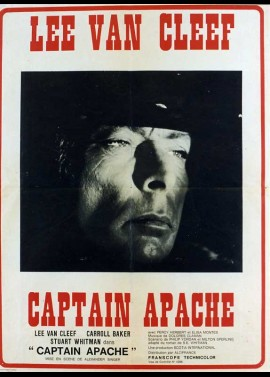 affiche du film CAPTAIN APACHE