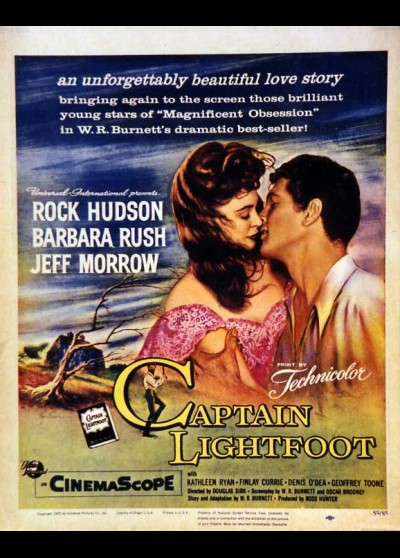 CAPTAIN LIGHTFOOT movie poster