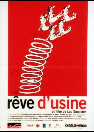 REVE D'USINE movie poster