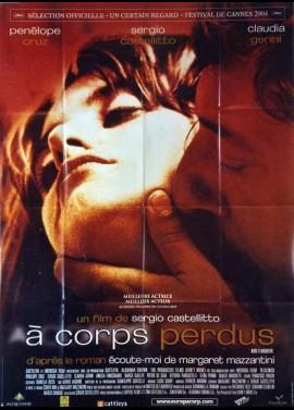 affiche du film A CORPS PERDUS