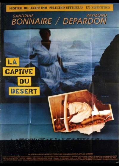 affiche du film CAPTIVE DU DESERT (LA)