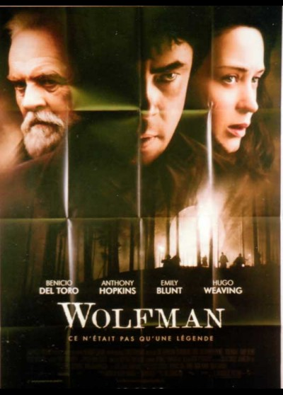 WOLFMAN (THE) movie poster