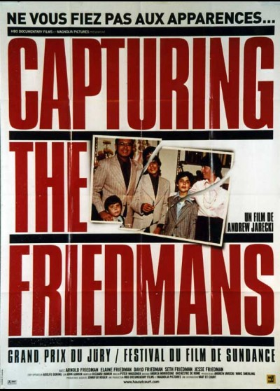 affiche du film CAPTURING THE FRIEDMANS
