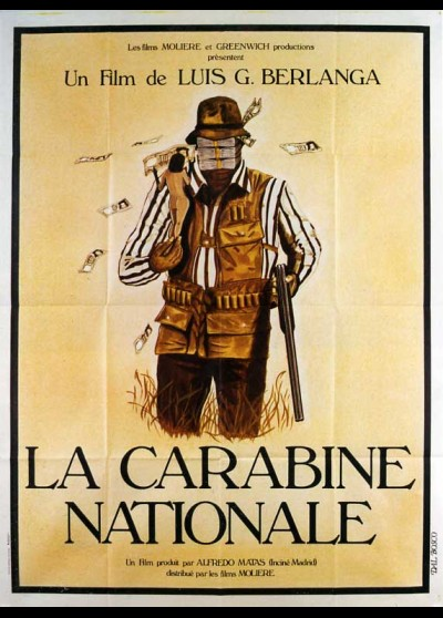 affiche du film CARABINE NATIONALE (LA)