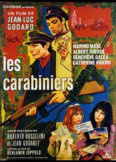 affiche du film CARABINIERS (LES)