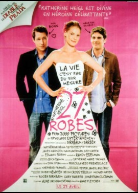 27 DRESSES / TWENTY SEVEN DRESSES movie poster