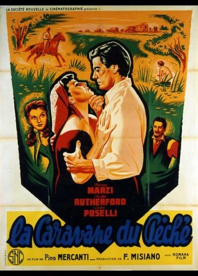affiche du film CARAVANE DU PECHE (LA)