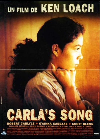 CARLA'S SONG movie poster