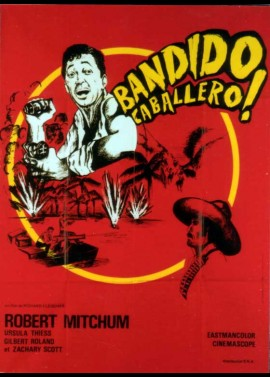 affiche du film BANDIDO CABALLERO