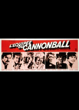 CANNONBALL RUN (THE) movie poster