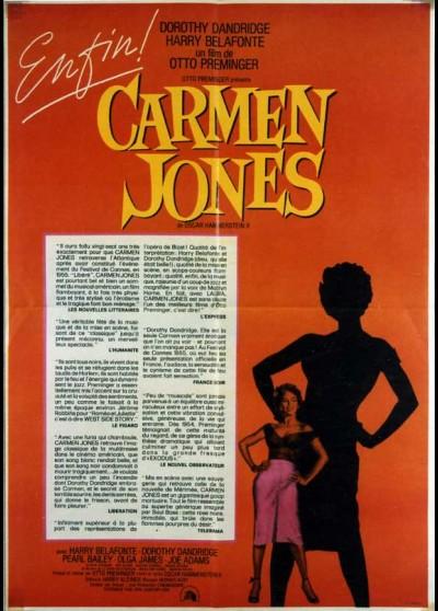 affiche du film CARMEN JONES