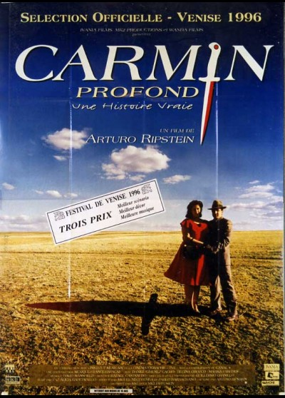 affiche du film CARMIN PROFOND
