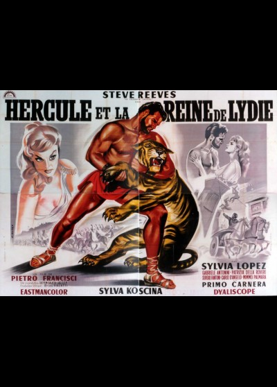affiche du film HERCULE ET LA REINE DE LYDIE