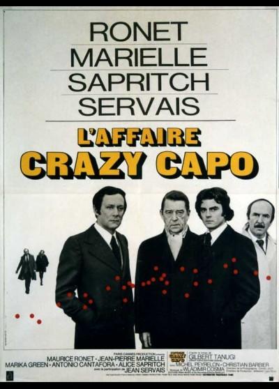 affiche du film AFFAIRE CRAZY CAPO (L')