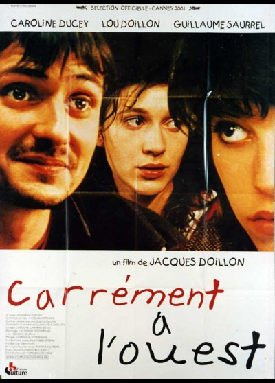 affiche du film CARREMENT A L'OUEST