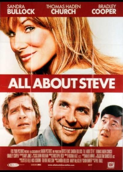 affiche du film ALL ABOUT STEVE