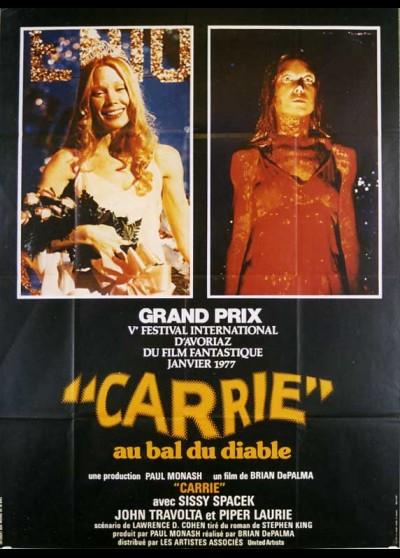 affiche du film CARRIE AU BAL DU DIABLE