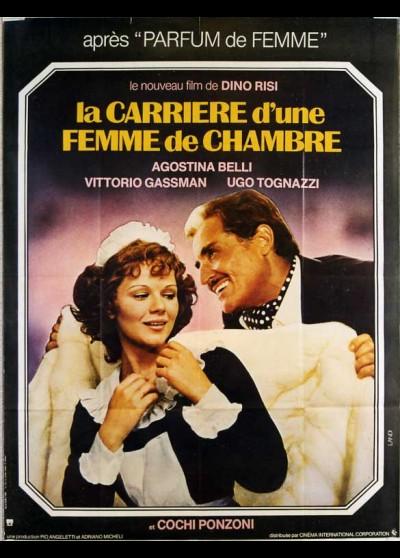 affiche du film CARRIERE D'UNE FEMME DE CHAMBRE (LA)