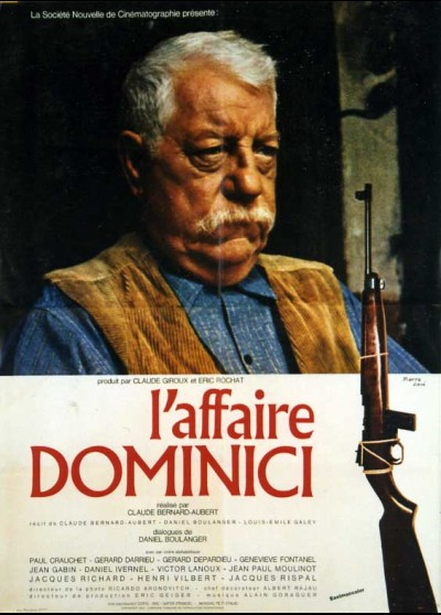 affiche du film AFFAIRE DOMINICI (L')