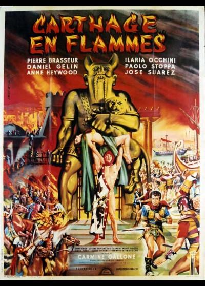 affiche du film CARTHAGE EN FLAMMES