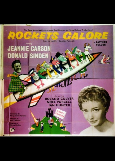 affiche du film ROCKETS GALORE