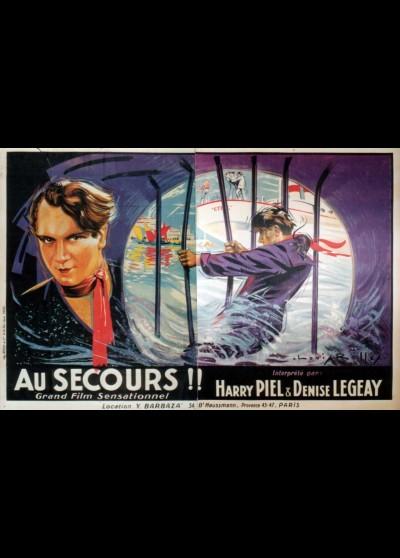 AU SECOURS movie poster