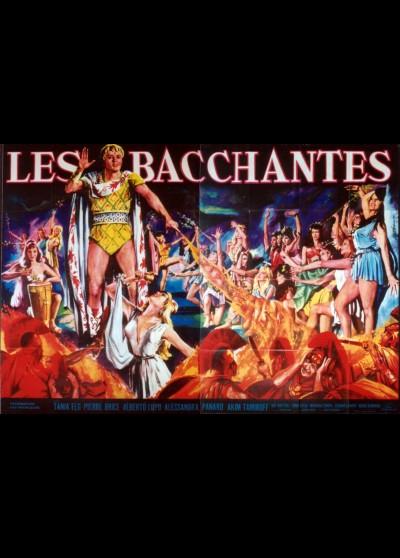 affiche du film BACCHANTES (LES)