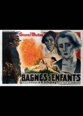 affiche du film BAGNES D'ENFANTS / GOSSES DE MISERE
