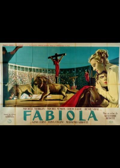 FABIOLA movie poster