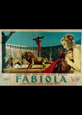 affiche du film FABIOLA