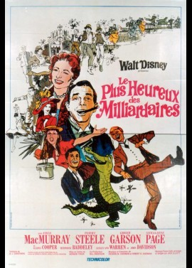 HAPPIEST MILLIONAIRE (THE) movie poster